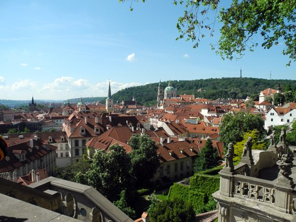Kurztrip Prag: Blick auf das Burgviertel (Hradcany)