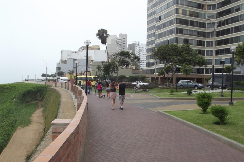 Miraflores in Lima: eine schöne Sehenswürdigkeit in der Hauptstadt Perus