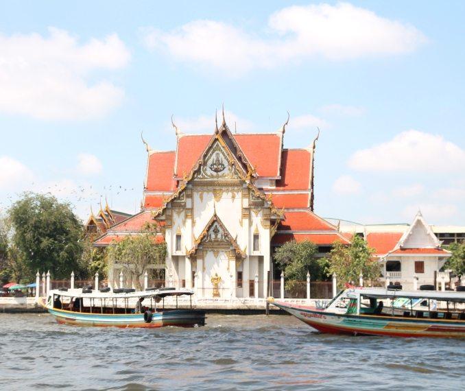 Sehr zu empfehlen: Eine Fahrt auf dem Chao-Phraya-Fluss