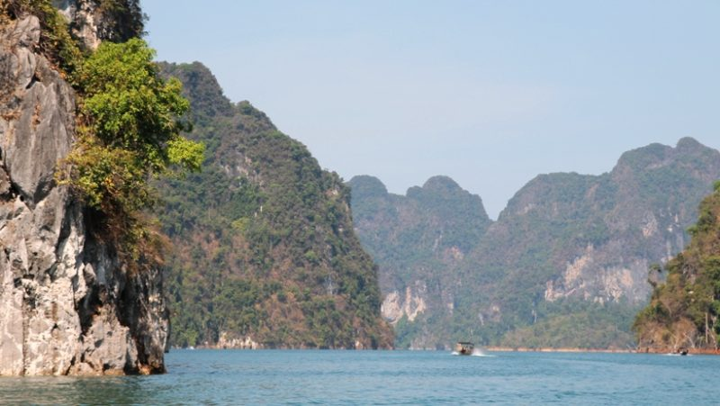 Wunderschön: Chiao-Lan-See im Khao Sok Nationalpark, Thailand