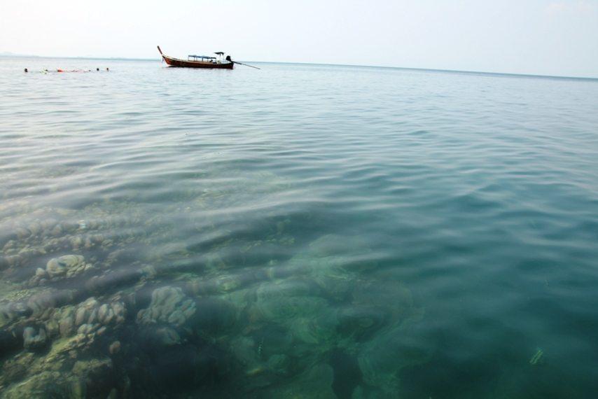 Korallenriffe bei Koh Lanta, Thailand