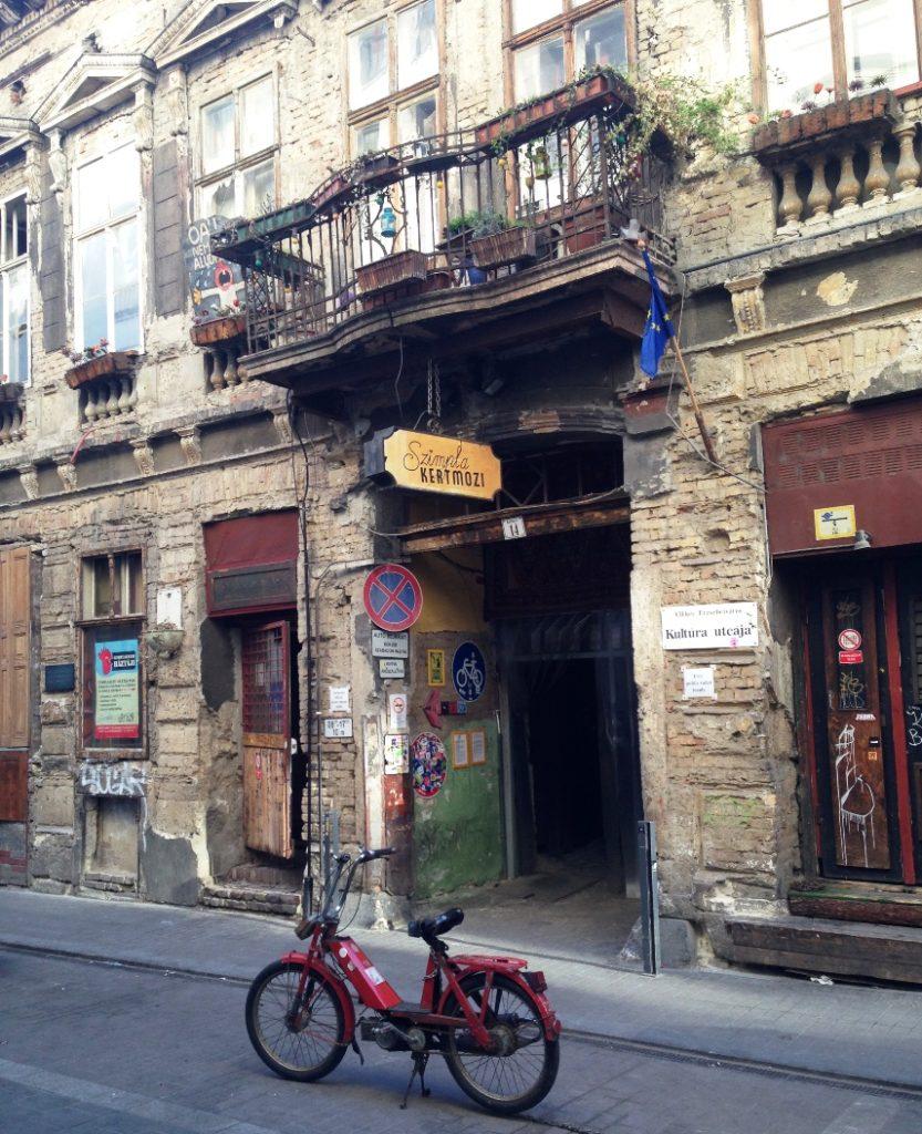 Abbruchklub Szimpla Kert in Budapest