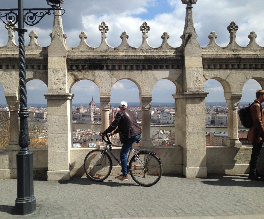Ausblick von der Matthiaskirche in Buda, Budapest in 3 Tagen