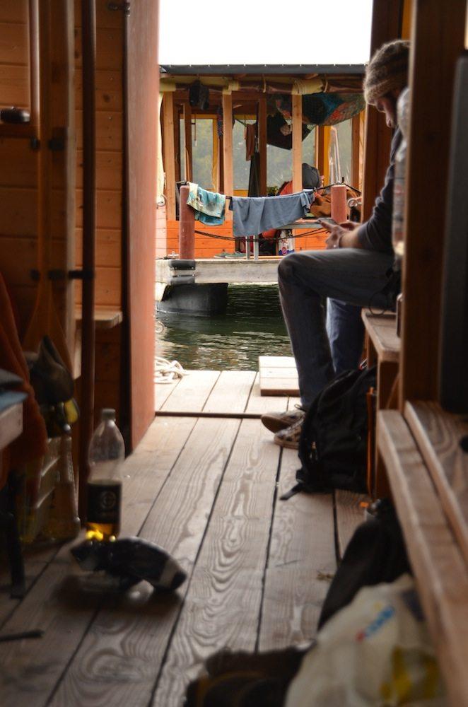 Klein aber fein. Wir hatten genung Platz auf unserem Hausboot