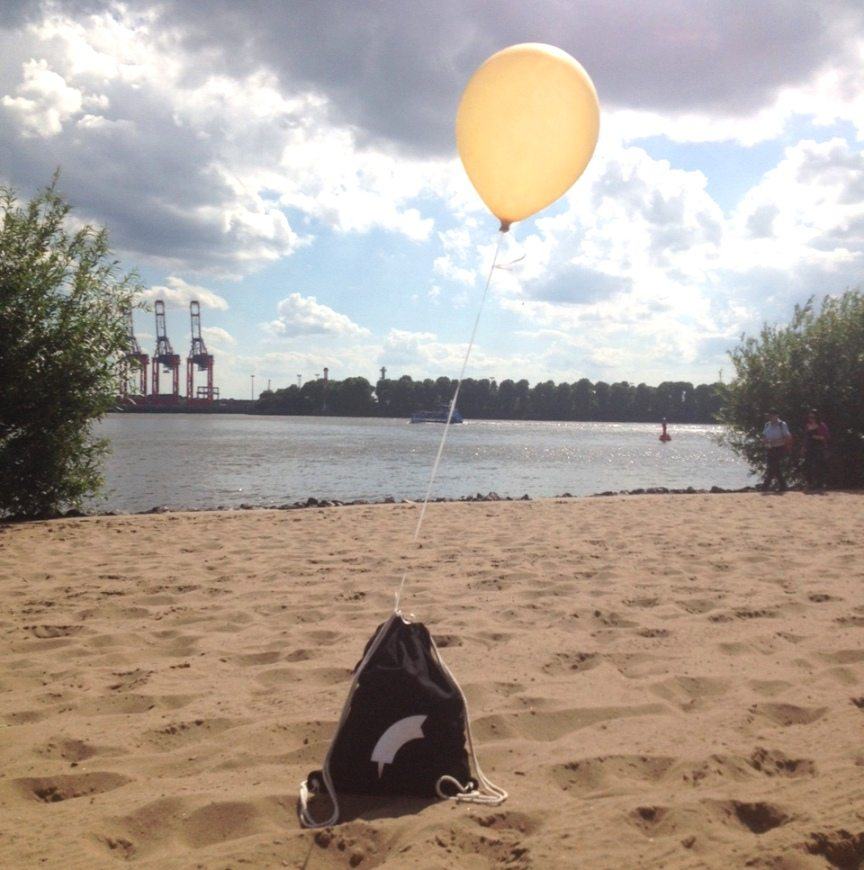 Ein Stück Auszeit: Der Elbstrand in Hamburg