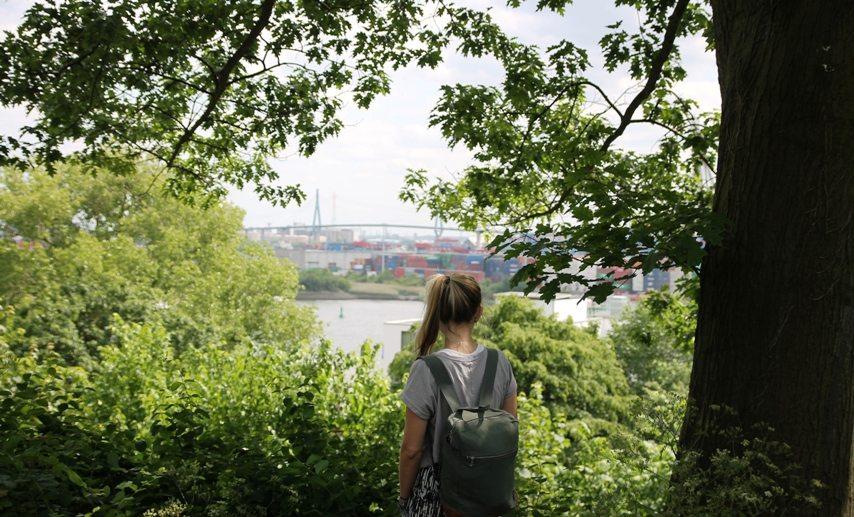 Geheimtipp für ein Wochenende in Hamburg: Spaziergang durch Altona zum Donners Park am Hafen