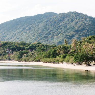 Koh Phangan ist vielleicht die schönste Insel Thailands mit tollen Stränden wie dem Leela Beach