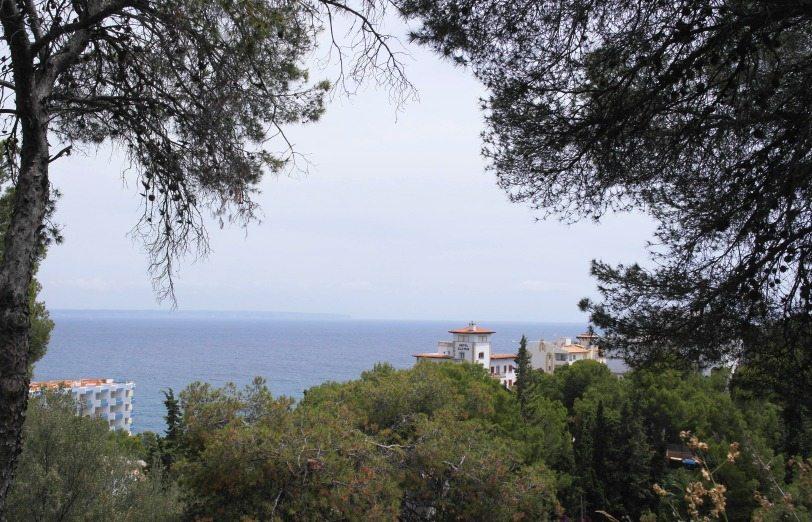 Kurztrip Mallorca: Blick aufs Meer bei Illetas