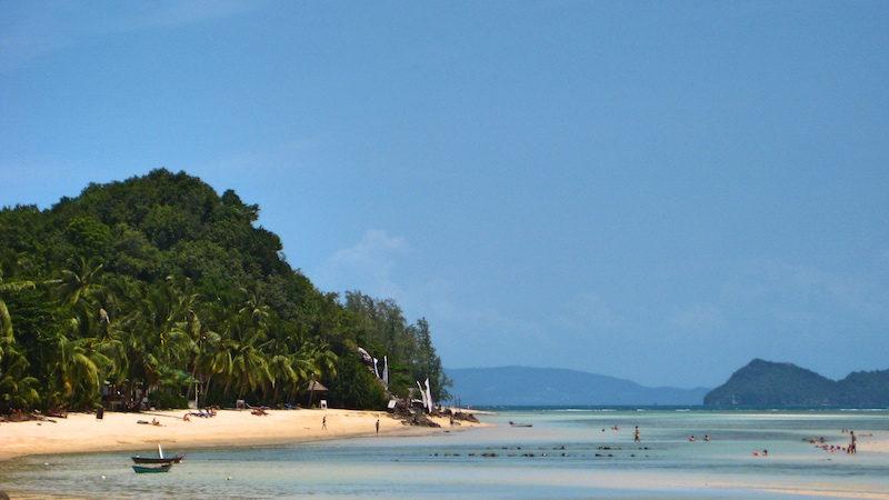 Schönste Insel Thailand - weil man am Haad Chao Pao Strand so gut abhängen konnte