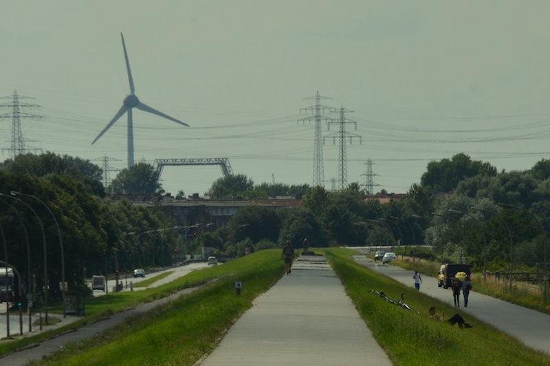 Gehört zu den schönsten Orten in Hamburg: Ein Spaziergang am Veddeler Deich