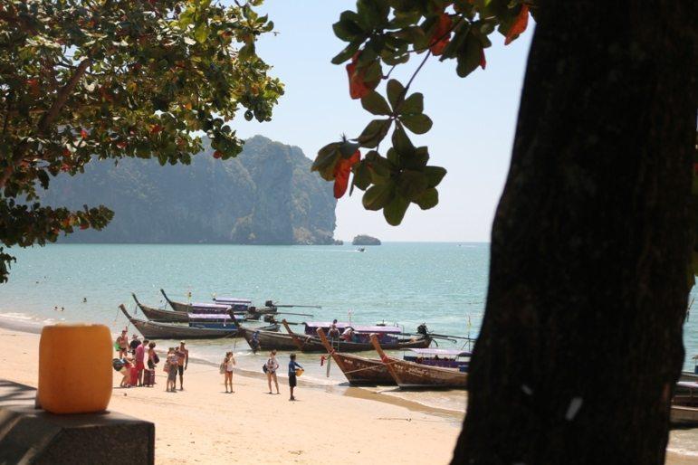 Ao Nang Beach in Thailand: Hi Postkarte!
