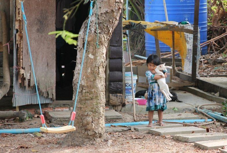 Nette Besitzer und Lieblingsmädchen: Arcadian Resort, Ao Nang, Krabi