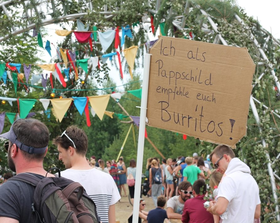 Feel Festival 2015: Iss mal Burritos!