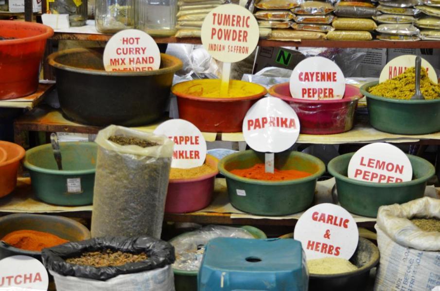 Indischer Markt in Durban - Highligth Südafrika