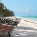 Strand in Pingwe Michamvi - Sansibar Backpacking