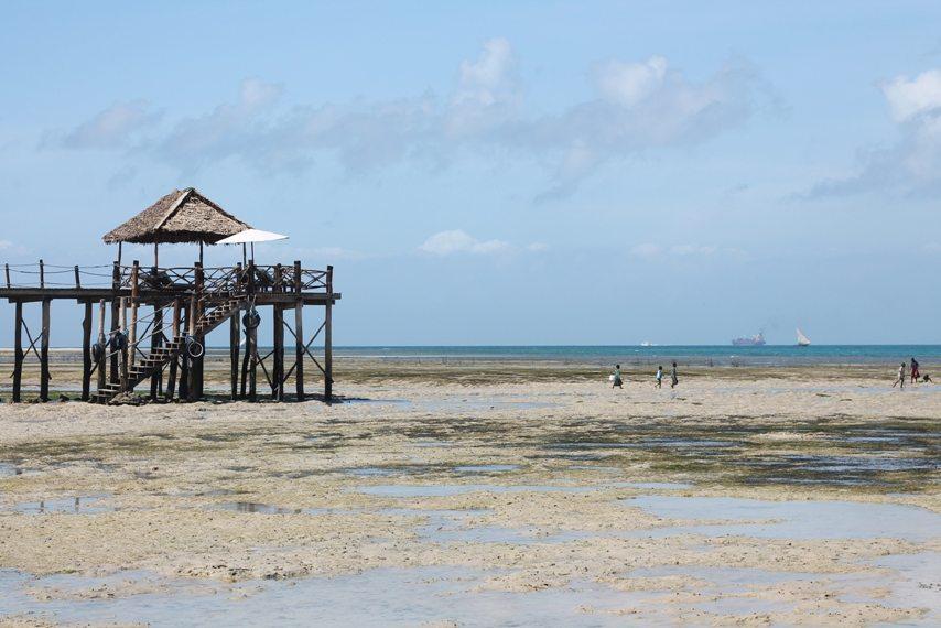 Abfahrt Chumbe Island - Strand Sansibar
