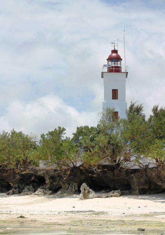 Backpacking Sansibar: Leuchtturm in Nungwi