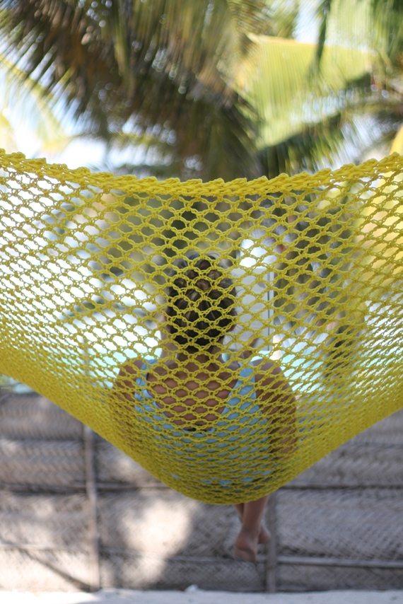Chillen in der Hängematte in Pingwe auf Sansibar