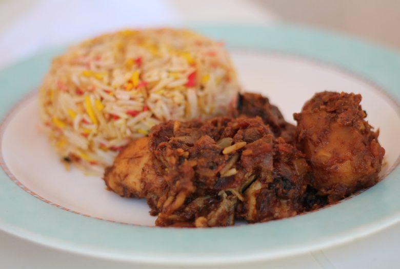 Backpacking-Tipp Sansibar: Essen in Cocos Café in Nungwi East - Briani Massala