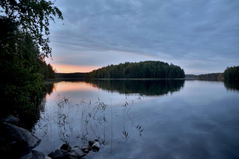 Ferienhaus in Finnland direkt am See
