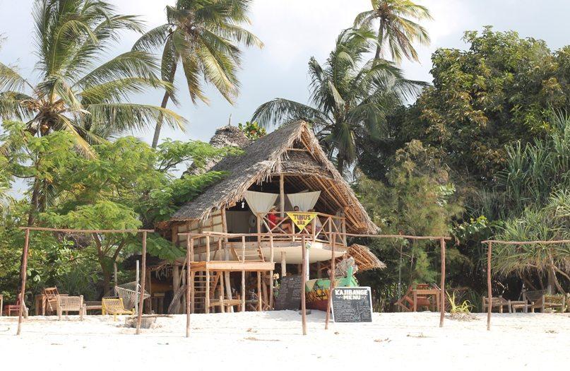Strandbar Nungwi - Kajibange Bar - Backpacking Sansibar Tipp