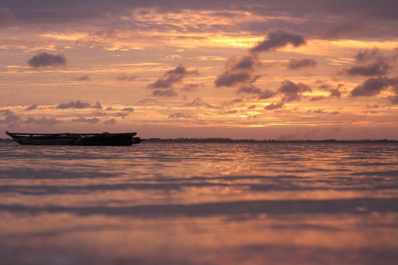 Sonnenuntergang Michamvi Kae Sansibar-Rundreise