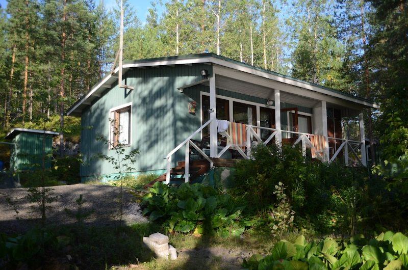Ein Ferienhaus in Finnland direkt am See