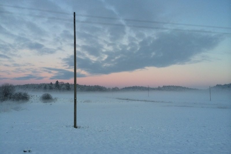 Winter in Polen