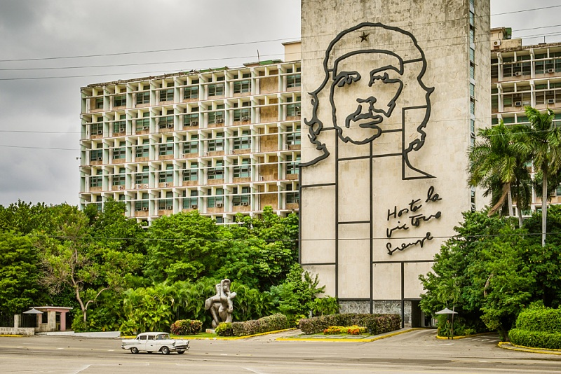 Sehenswürdigkeiten Kuba - Havanna Tipp und Highlight Plaza Revolucion