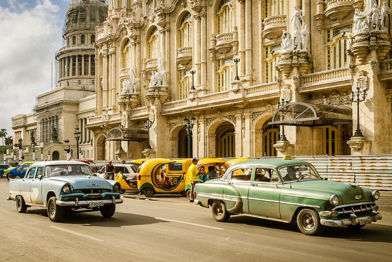 Sehenswürdigkeiten Kuba Rundreise - Havanna Highlight Stadtrundfahrt Oldtimer