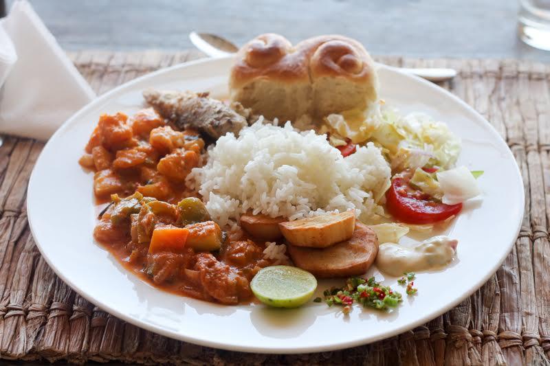 Tagesausflug Chumbe Island - leckeres sansibarisches Essen