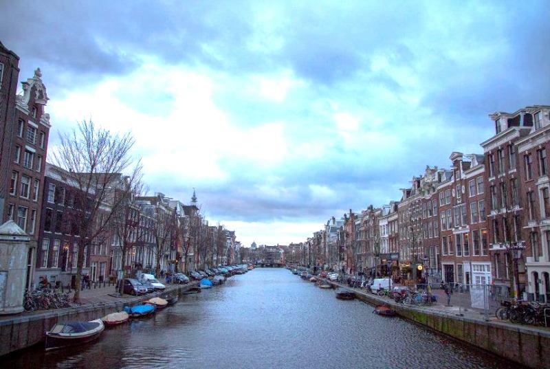 Immer toll: Die Grachten von Amsterdam - mein Highlight