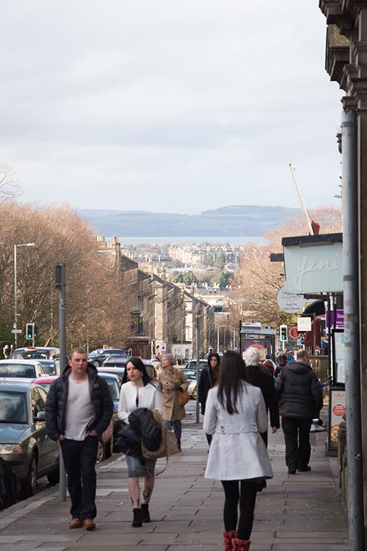 Die New Town von Edinburgh