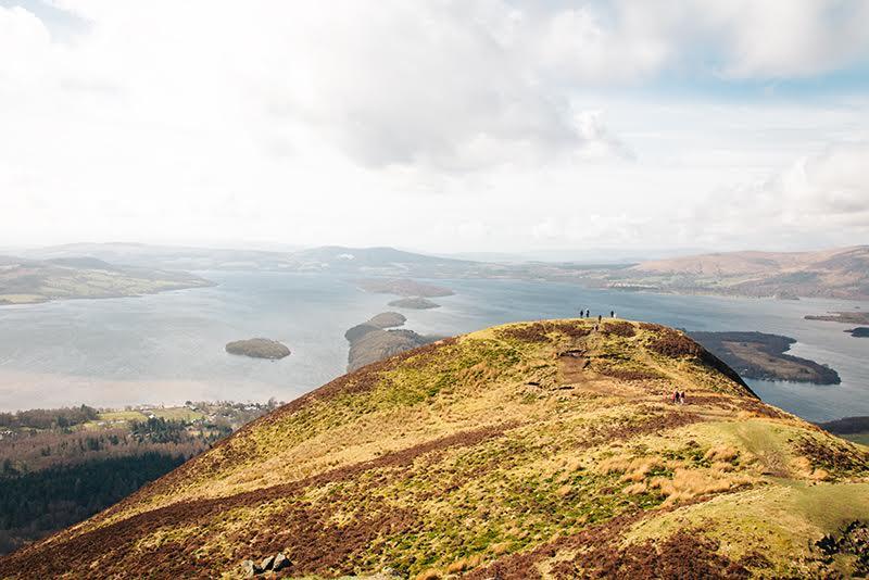 Highlight unserer Schottland-Rundreise: Blamaha am Loch Lomond