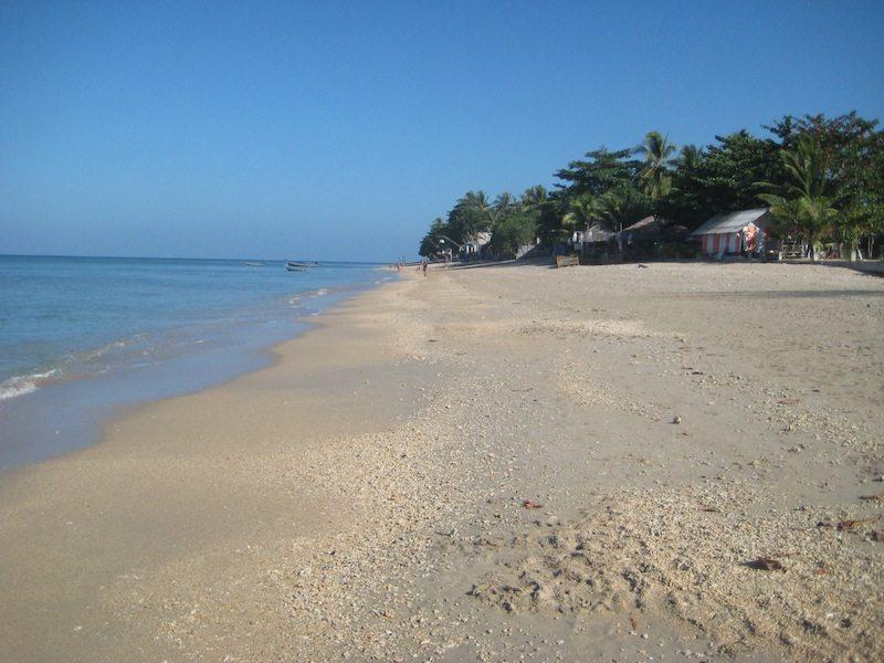 Liebste Strände Koh Lanta: Klong Khong - Gut zum Schwimmen nur bei Flut
