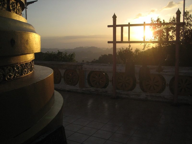 Kriege nicht genug von den goldenem Schimmer des Sonnenuntergangs
