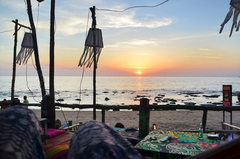 Ein Paradies fuer Backpacker: der Klong Khong Beach