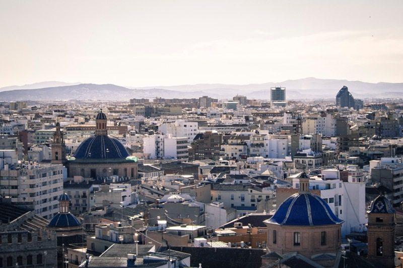 Toller Ausblick vom Turm der Kathedrale in Valencia - Highlight des Kurztrips