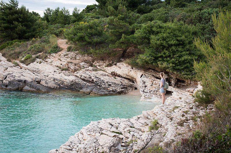 Kap Kamenjak und seine schönen Strände und Buchten - Istrien - Kroatien