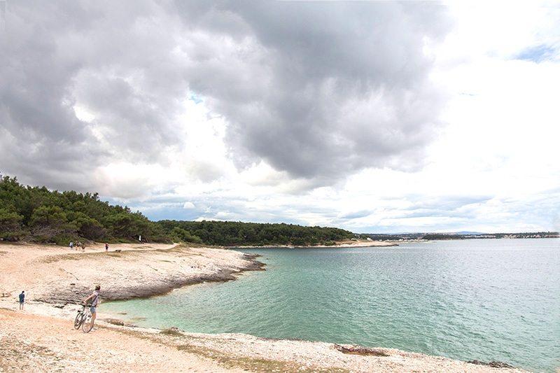 Fahrradtour durch das Kap Kamenjak - Strände, Buchten, Natur pur