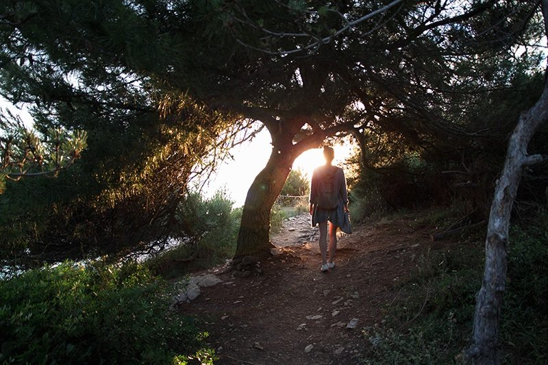 Sonnenuntergang am Kap Kamenjak - Kroatien - Istrien