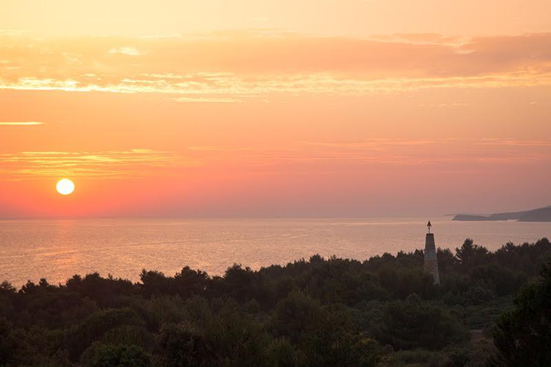 Sonnenuntergang am Kap Kamenjak in Kroatien