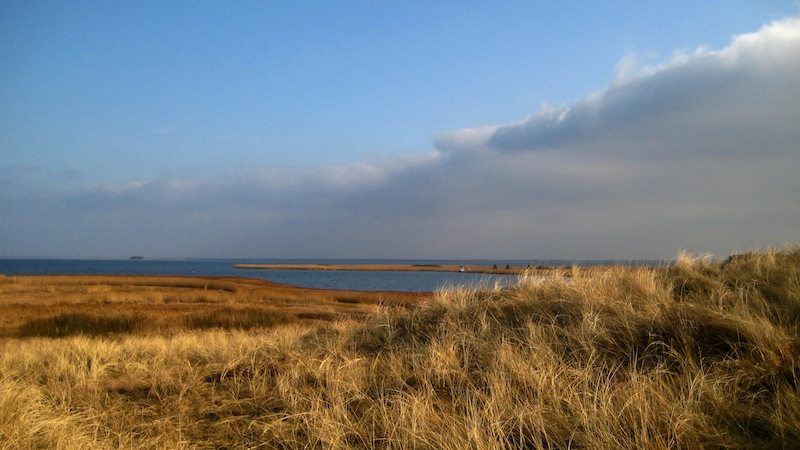 Fjord bei Hvide Sande in Dänemark