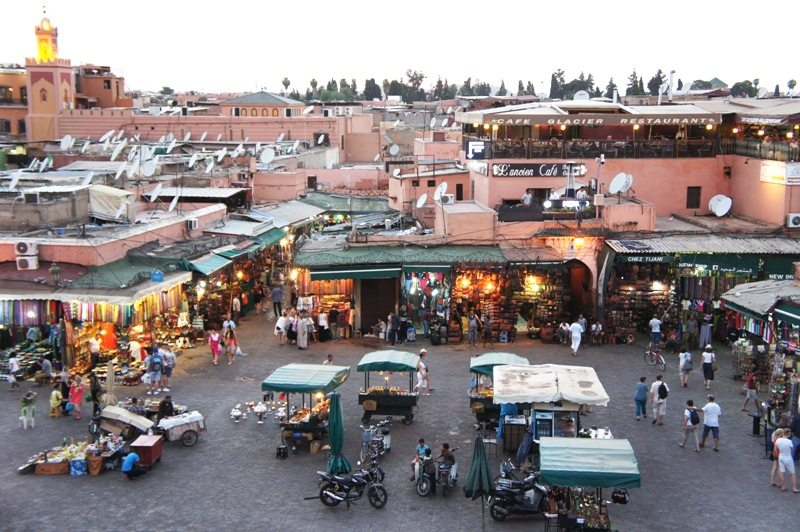 Marrakesch Highlight: Markt Djeema El Fna