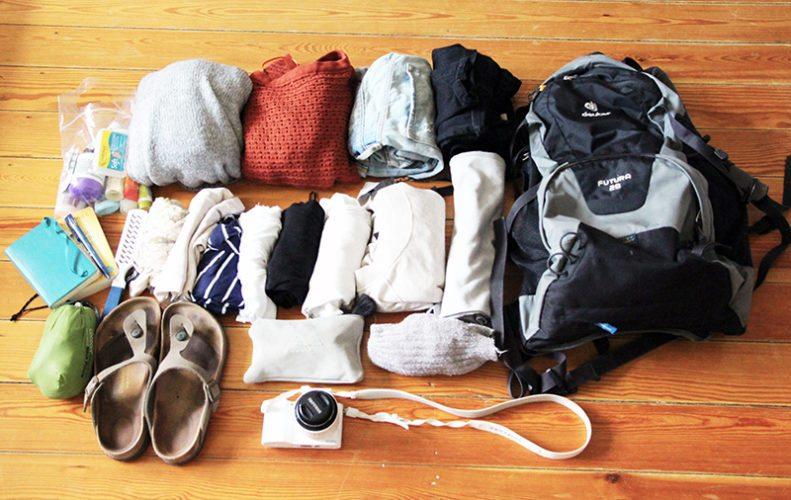 Packliste Kurztrip - das kommt in mein Handgepäck