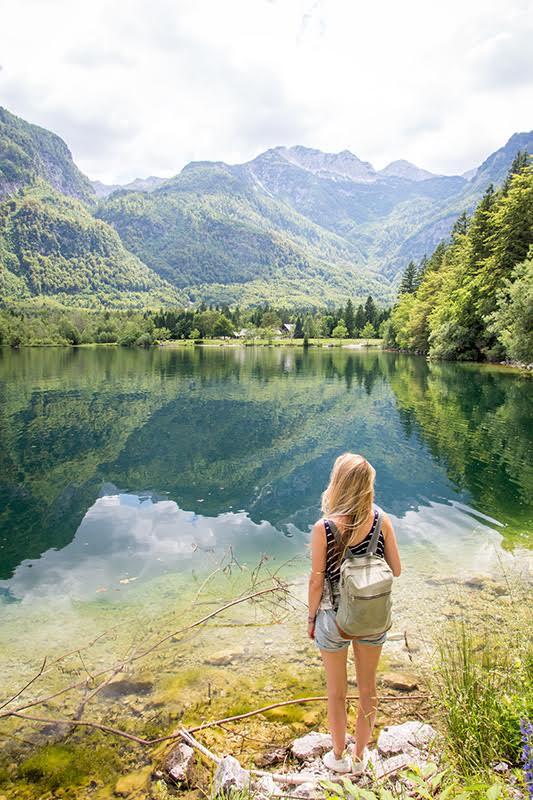 Abenteuer Weltreise: Wir wünschen uns Freiheit - wie hier am Lake Bohinj in Slowenien
