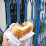 Lecker: Burek essen in Ljubljana