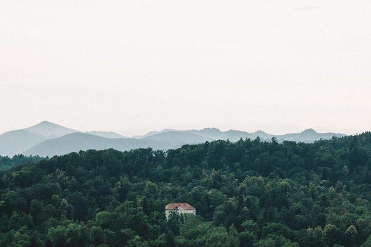 Ljubljana with a view: Ausblick von der Burg
