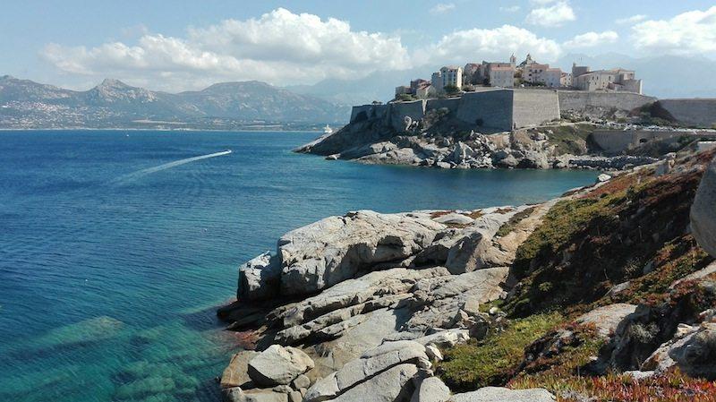 Korsika Rundreise letzte Station: Calvi im Nordwesten Korsikas