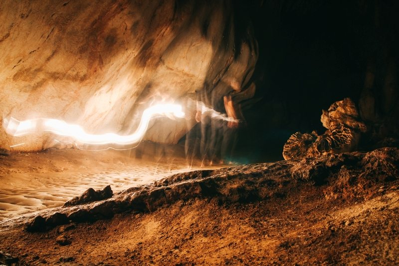 Die Chiang Dao Cave in Thailand
